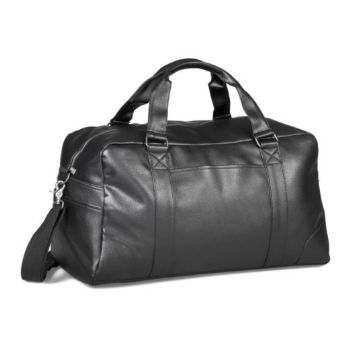 PU Overnight Bag - Black